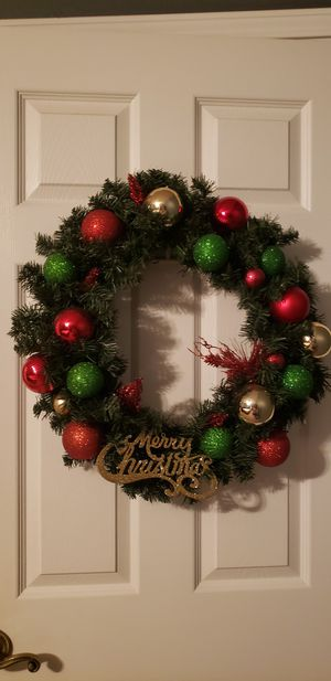 Christmas wreath for Sale in Pearland, TX