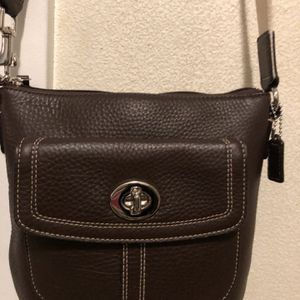 Coach Leather small cross body bag for Sale in Seattle, WA