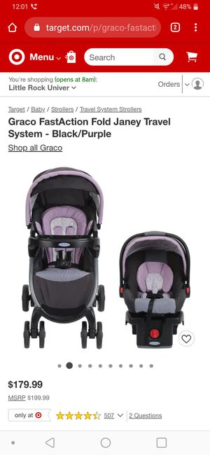 Brand new car seat and stroller travel system for Sale in Little Rock, AR