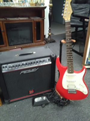 Electric guitar & amp for Sale in Meriden, CT