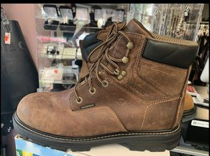 Men wolverine work boots size 12,M at Mimi's Fashion Store. for Sale in Herndon, VA