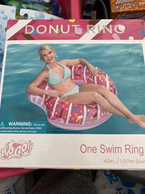 Pink Donut ring float for Sale in Los Angeles, CA
