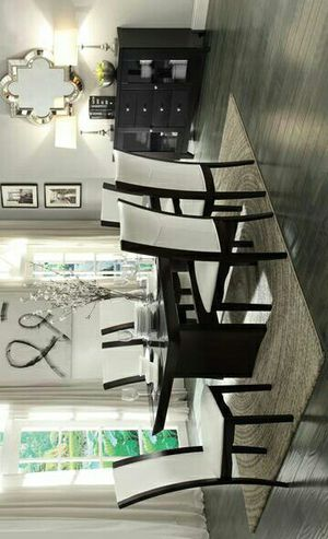 Daisy Black/White Upholstered Side Chair, Set of 2 | 710 for Sale in Houston, TX