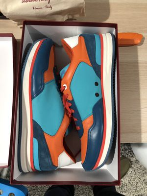 Blue and Orange Ferragamo Tower 3 DS Size 14 US for Sale in Irvine, CA