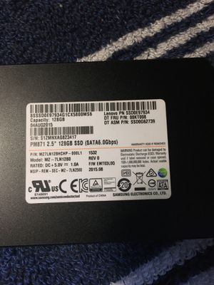 SSD Solid State hardrive 128 GB for Sale in Boston, MA