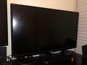 "Acer S271HL DBID 27"" IPS LED Full HD Monitor Thin Design - Black for Sale in Miami, FL"