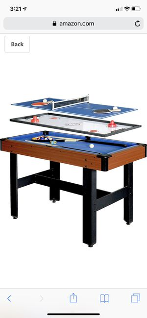 *Brand New* Hathaway 3 in 1 multi table game for Sale in Dublin, OH