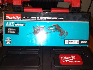 MAKITA 18V RECIPROCATING SAW TOOL ONLY NEW $70 for Sale in Chula Vista, CA