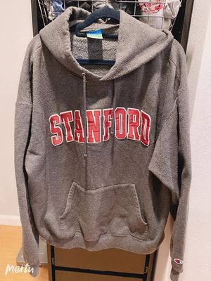 Stanford hoodie gray top shirt long sleeve size XL for Sale in San Jose, CA