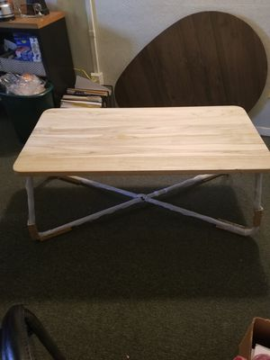 Coffee Table - Natural Teak Wood for Sale in Cleveland, OH