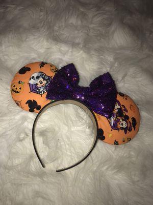 Disney Mickey Minnie Mouse Halloween Ears for Sale in Las Vegas, NV