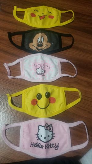 2 layers reusable and washable Cloth Mask for kids for Sale in Morrisville, NC