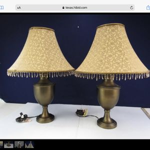 Vintage Lamp / Quantity 2 for Sale in Tomball, TX