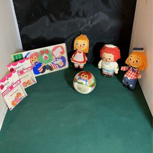 Raggedy Ann And Andy for Sale in Lake Forest, IL