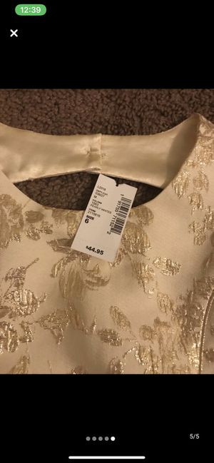 Cream Dress for Sale in Gulfport, MS