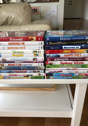 24 DVD's for $20. All in good condition! for Sale in Irvine, CA