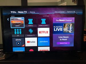 32 inch tcl roku tv for Sale in Inkster, MI