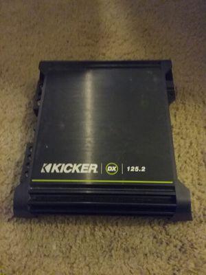 2 channel car amplifier kicker for Sale in Renton, WA