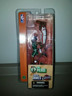"3"" SCALE 2003 MCFARLANE 2PACK(LEBRON JAMES/PAUL PIERCE) for Sale in Waldorf, MD"