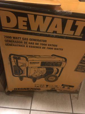 Dewalt Generator 7000watts for Sale in Harahan, LA
