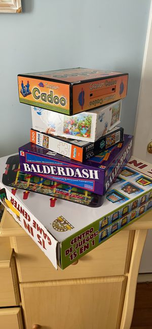 Bord game and puzzles for Sale in Gaithersburg, MD