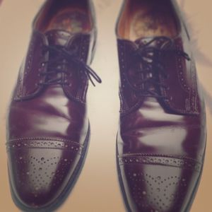 allen edmonds sanford oxford dress shoes in merlot - s10.5b for Sale in East Rutherford, NJ