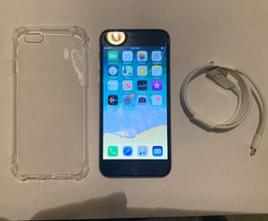 iPhone 6 16GB UNLOCKED**CASE CHARGER AND PHONE** FIRM PRICE for Sale in Las Vegas, NV