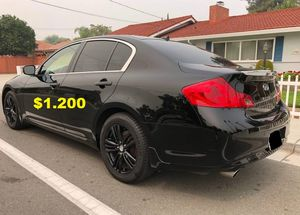 Available Now$1200-Selling Urgent!Black 2013 Infiniti G37 for Sale in Arlington, VA
