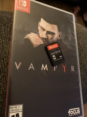 Vampyr Nintendo Switch for Sale in Downey, CA