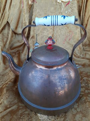 Large decorative copper tea pot for Sale in San Diego, CA