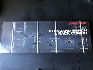 Weight bench/rack combo weider 6.1 for Sale in Brownstown Charter Township, MI