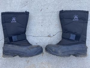 Kamik Frontline 2 Cold Weather Rain Boots (Size 12) for Sale in Los Angeles, CA