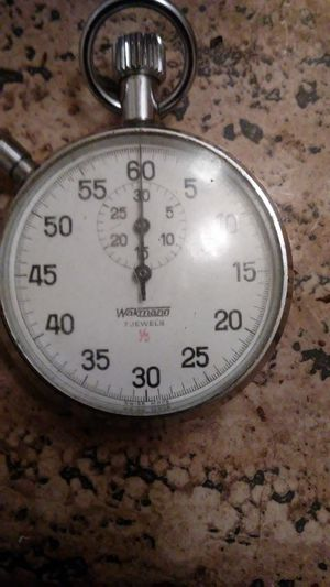 Wakmann 7 jewels swiss made stop watch for Sale, used for sale  Grass Valley, CA
