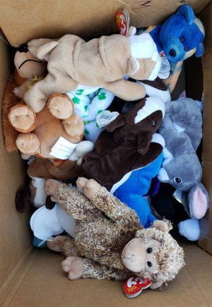 Beanie babies stuffed animals for Sale in Woodland, CA