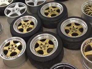 Oz racing pegasus wheels for Sale in Dixon, CA