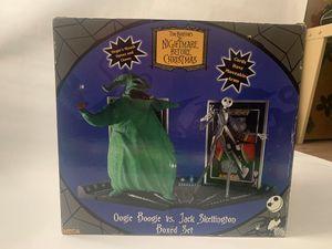Nightmare Before Christmas Boxed Set - Oogie Boogie vs. Jack Skellington for Sale in Los Angeles, CA