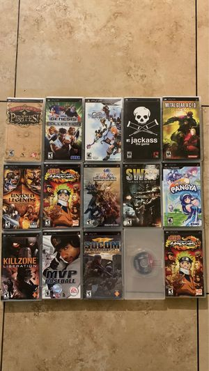 PlayStation Portable PSP Game/s for Sale in Phoenix, AZ