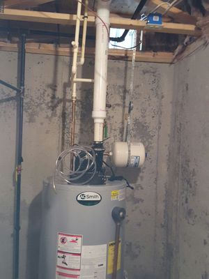 40 gallons water heater work with propane fuel economy for Sale in Washington, DC