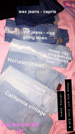 Skinny jeans slacks capris sweaters hoodies jackets long sleeve shirts T-shirts for Sale in Fort Worth, TX