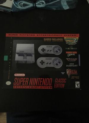 Super Nintendo Entertainment System Mini for Sale in Brooklyn, NY