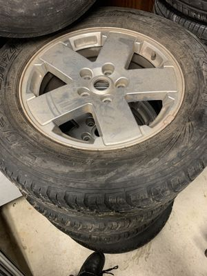 Jeep 5x5 wheels for Sale in Beaverdam, VA