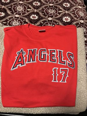 Red Daren Erstad Angeles Jersey shirt size XXL for Sale in Arcadia, CA