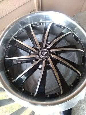 22 inch chrome rims (last day sale) for Sale in Portland, OR