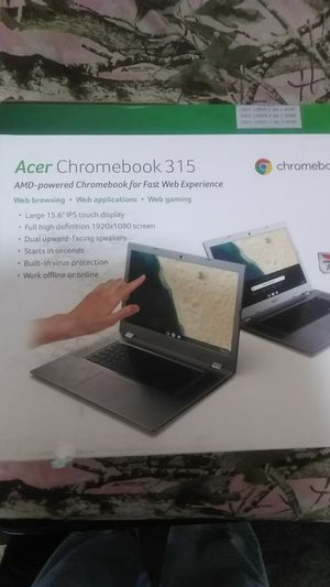 Chromebook 315 touch screen for Sale in Hyattsville, MD