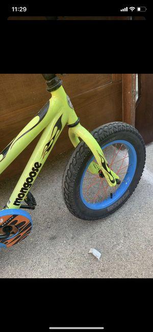 mongoose kids bike for Sale in Detroit, MI