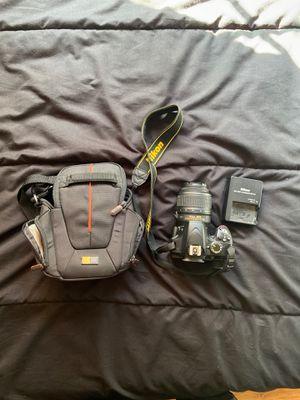 Nikon D3200 w/ standard 18-55 mm lense for Sale in San Diego, CA