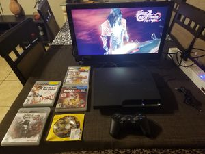PS3 + Castlevania 2 + Resident Evil 4 for Sale in DW GDNS, TX
