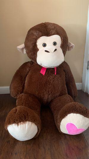 Huge stuffed monkey for Sale in Detroit, MI