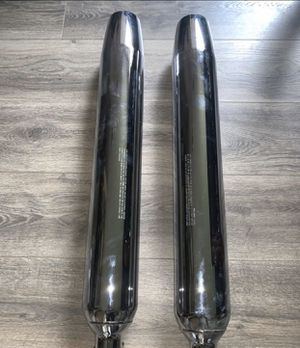 Harley Davidson exhaust mufflers (2) 65846-10A for Sale in Los Angeles, CA