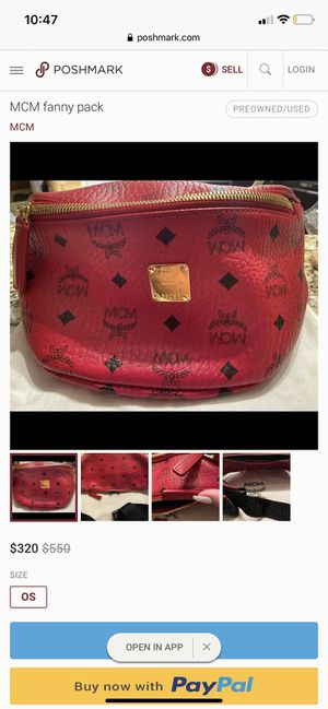 MCM fanny pack for Sale in Arvada, CO